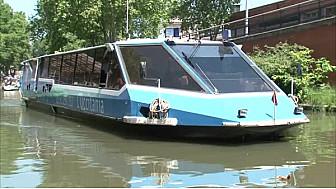 #Gastronomie : Le Bateau-Restaurant L'Occitania, sur le Canal du Midi à Toulouse