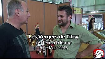 Une des dernières distilleries «à la ferme» du Lot-et-Garonne: les Vergers de Titoy.