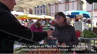 Annuaire Circuit-Court.tvlocale.fr : EARL De Vernière à Vazerac - Tarn-et-Garonne Producteurs de Fraises et de Légumes de printemps