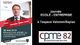 Michel Darios Président de la CPME 82 annonce la visite du Président National de la CPME, François ASSELIN le 30 mai à Montauban @CPMEnationale @CPMEoccitanie