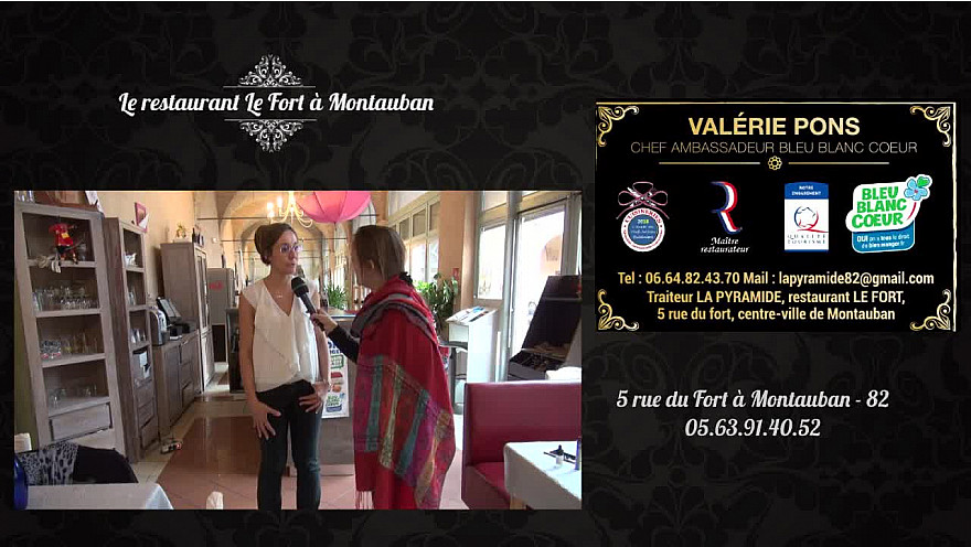 Le Fort restaurant traiteur Montauban recevait les furturs mariés