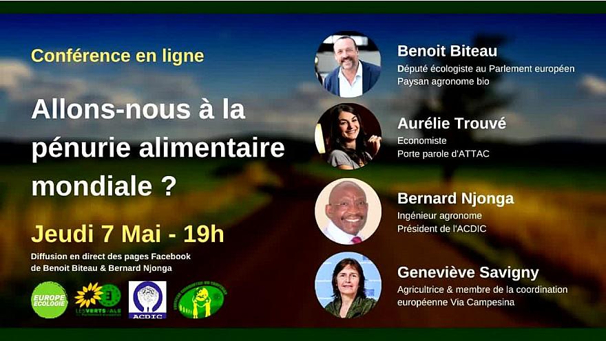 Benoît Biteau :  'Allons-nous à la Pénurie Alimentaire Mondiale ?' @BenoitBiteau @TrouveAurelie @bernardnjonga  @savignygenevi @euroecolos