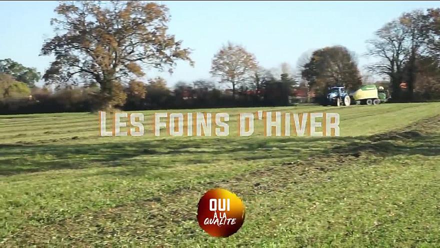 'Oui à la Qualité' :  Georges Allais, Président Fédération des Filières de Qualité Pays de la Loire  nous parle du Foin d'Hiver